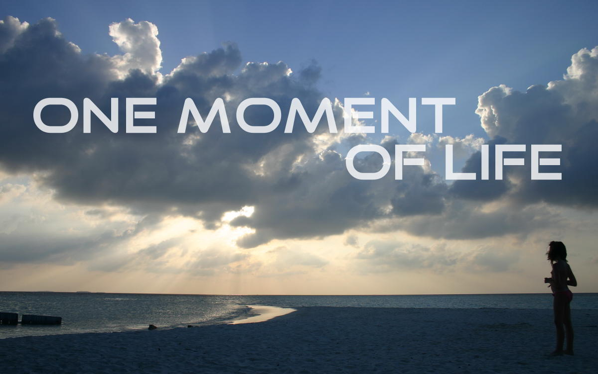One moment of life